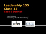 155.16 - Case 5 Debrief - closing the coaching session