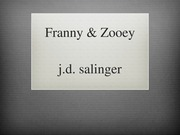 Franny and Zooey Part 1