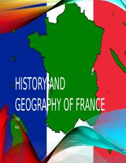 History and Geography of France.pptx