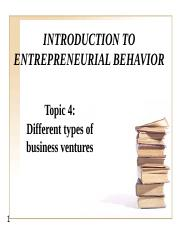 Topic 4 - Different types of business venture.pptx