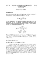 CHEM 4502 - Lecture 2 - 2012