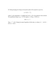 Phys 181b Problem Set 5 Solution