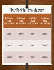 Museum Template_Periods 3_4