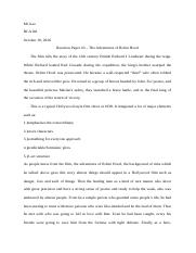 Reaction Paper # 3 - The Adventures of Robin Hood.docx