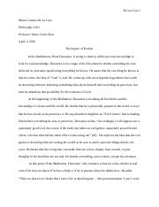 Essay For Students Of High School  Pages Descartes Essaydocx Thesis Generator For Essay also Good High School Essay Topics Phil  Houston Community College  Course Hero Essays Topics In English