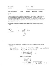 Quiz 4 Key 1710 Fall 2010
