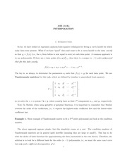 Lecture15_Interpolation