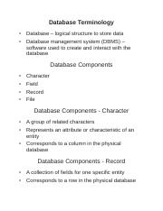 databasestudy.doc