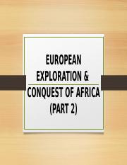 IMPERIALISM-EUROPEAN EXPLORATION & CONQUEST OF AFRICA.pptx