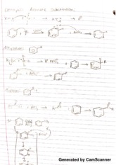 chem 3770 electrophilic notes