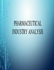 12- Pharmaceutical Industry Analysis.pptx