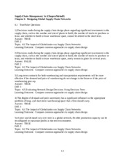 scm ch12 View notes - scm_ch12 from it 230 at purdue supply chain management: from vision to implementation chapter 12: information sharing chapter 12: learning objectives 1.