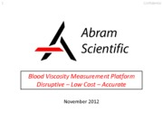 Abram Scientific Presentation_November 2012