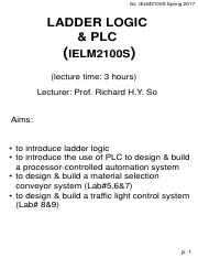 4llplc2100s17 so ielm2100s spring 2017 ladder logic plc 4llplc2100s17 so ielm2100s spring 2017 ladder logic plcielm2100slecture time 3 hours lecturer prof richard hy so aims to introduce ladder ccuart Image collections