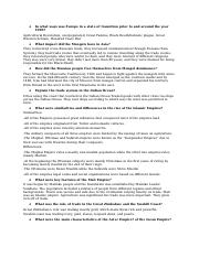 Apwh exam study guide