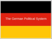 The German Political System