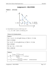 ENGI 2102 - Assignment 6 - SOLUTIONS
