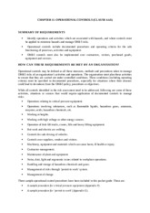 Ch11 - Operational Controls (Clause 4.4.6) - 020116