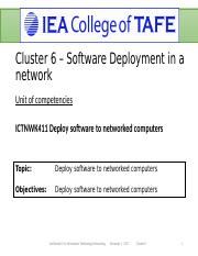 Lesson 2. Deploying software to networked computers Full Document.ppt