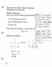 Lecture 24 on Analytical Geometry and Calculus I