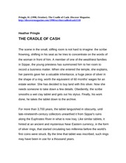 Cradle of Cash