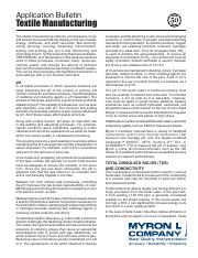 Myron-Application-Bulletin-Textile-Manufacturing