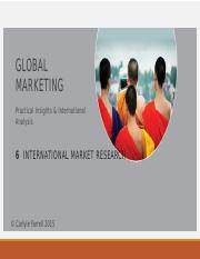 Chapter+6,+Researching+Global+Markets