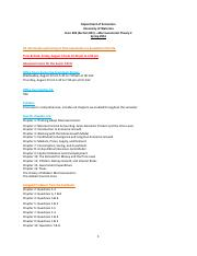Syllabus, Procedure & Sample quesntionnaire for Final Exam