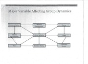 Major Variables Affecting Group Dynamics