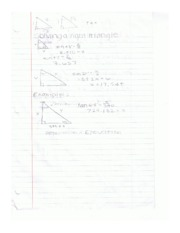 Notes triangles