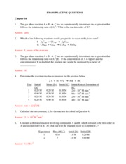 Chap 16 practice problems answers
