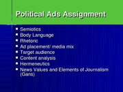 Elements of Persuasion, Gans's Elements of Journalism