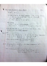 Higher dimensional linear algebra notes