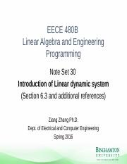 Note_Set_30 -Introduction of Linear dynamic system_2(1)