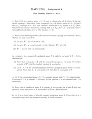 3T03 Assignment 4 Solutions