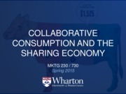 11 - Collaborative Consumption and the Sharing Economy