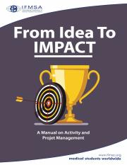 From Idea to Impact - Manual on Activity and Project Management  (1).pdf