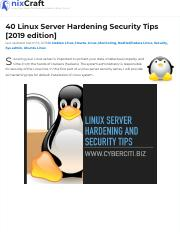 40 Linux Server Hardening Security Tips.pdf