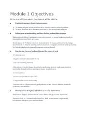 Module 1 Objectives.docx
