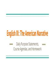 English III_ The American Narrative (H).pptx