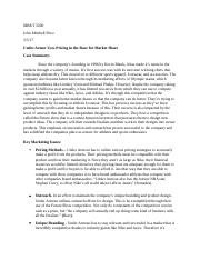 John Price MRKT 5000 Case Assignment #8.docx