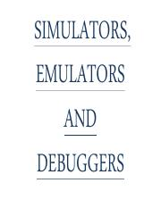 emulators and debuggers.pdf