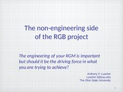 non engineering aspects of project