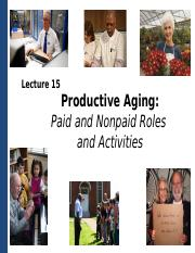 Lecture 15_C2_Productive Aging