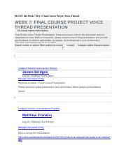 MGMT 404 Week 7 DQ 2 Final Course Project Voice Thread - Copy.docx