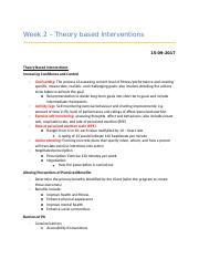 Week 2 - theory based interventions.docx
