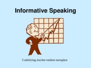 Informative Speaking-Strategies and Types