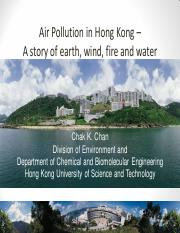 L7 Air Quality in HK 2015