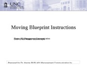 moving blueprint