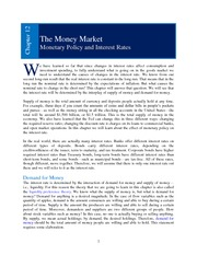 Chapter 12 _Money Market_